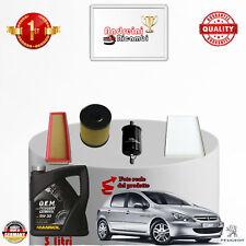 Filtres Kit D'Entretien + Huile Peugeot 307 1.4 16v 65kw 88cv à partir de 2007