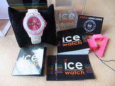 Ice Watch rose visage et Blanc Bracelet avec Swarovski Elements Coffret