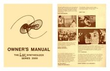 ARP The Synthesizer series 2500 Owner's Manual - Theory of operation - Guide
