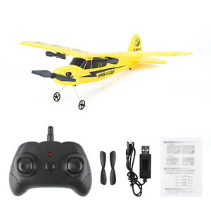 2.4G Radio Remote Control Airplane Piper J3 Cub RC Plane Beginner Glider