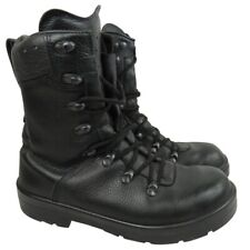 More details for german army black para boots mens military issued surplus