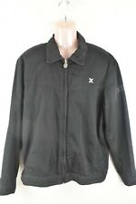 Mens Quicksilver black cotton jacket Medium