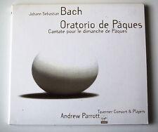 BACH . ORATORIO DE PAQUES  . ANDREW PARROTT . DIGIPACK CD