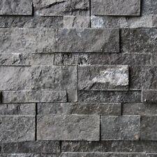 """1 Musterstück """"KARBON BLACK"""" Wand Verblender, Riemchen, Naturstein, Paneele"""