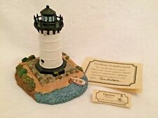 Signed Harbour Lights Edgartown, Ma Nib, Coa, 1997 Event Exclusive