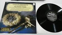 Donizetti + Giuseppe Verdi Masnadieri LP Vinyl VG + Spanisch Ed Philips