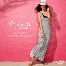 "CAbi ""Twisted Tank Maxi Dress"" ~ Style # 863 ~ Size Medium ~ NWT $108 ~ nl"