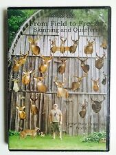 From Field to Freezer - Skinning and Quartering DVD - NEW- (eb3)