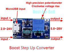 DC-DC Boost Step-up Regulator Converter USB 2~24V to 3 3.3V 5V 9V 12V 24V Module