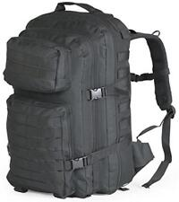 Large Military Army Patrol MOLLE Assault Straps Black Tactical Backpack Pack Bag