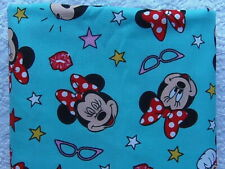 NEW & HTF Disney Vintage Classic MINNIE MOUSE GLAMOUR GLASSES *100% Cotton FQ*