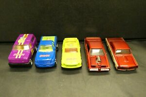 Vtg Racing Champions 1/64 Lot of 5 Cars Scooby Doo Fred Shaggy Daphne Pontiac GT