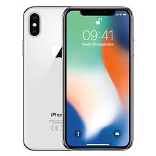 Apple iPhone X - 64 Go - Argent (Désimlocké)