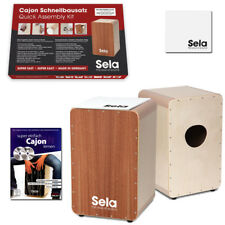 Sela ® Cajon rapidement Kit se037 avec Sela ® Cajon Pad et Cajon école