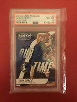 2018-19 Panini Threads Our Time Luka Doncic Rookie RC #15, PSA 10, 📈Pop/24🔥