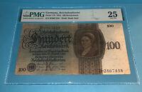 PMG Germany, Reichsbanknote 100 Reichsmark Banknote pic178 1924 VF