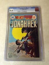 WEIRD WESTERN TALES #27 CGC 9.4 early JONAH HEX, 1975, HANGIN ON COVER