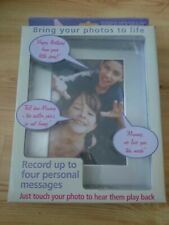 Touch And Talk Picture Frame, Photos With Personal Messages