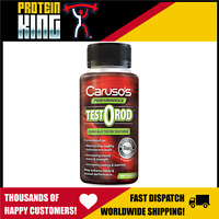 CARUSOS TESTOROD 60 TAB HEALTHY TEST LEVELS INCREASE MUSCLE MASS STRENGTH LIBIDO