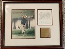 Fred Couples Autograph w/ COA 1996 Players Champion Framed Photo