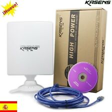 ANTENA USB PANEL WIFI KASENS N5200 80dbi 6600mw RALINK 3070 similar NETSYS 98dbi