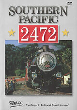 Southern Pacific 2472 DVD SP Railroad Steam Pentrex NEW!
