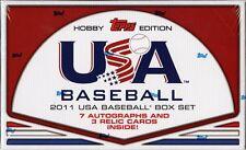 2011 TOPPS USA BASEBALL HOBBY BOX SET FACTORY SEALED NEW