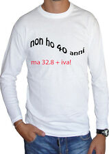 fm10 long sleeve t-shirt unisex 40 ages birthday funny gift idea MITIC
