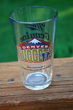 Denver Nuggets Miller Draft Pint Glass