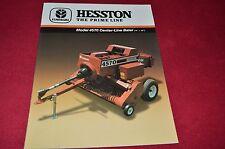 Hesston 4570 Center Line Baler Dealer's Brochure 705500042 LCOH
