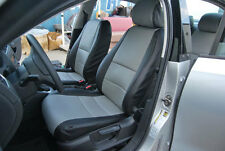 VW JETTA 2011-2012 IGGEE S.LEATHER CUSTOM FIT SEAT COVER 13 COLORS AVAILABLE