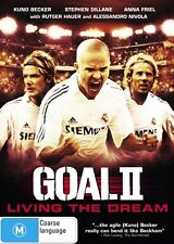 Goal II - Living the Dream (DVD, 2013) - Region 4