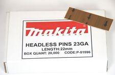 Makita P-51596 23 Gauge Pins Brads Nails for Af201 22mm