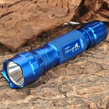 Uwe WF-501B 350lm White Light 18650 Flashlight - Blue body