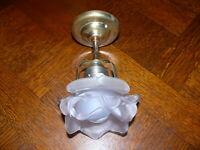Rarität Original Jugendstil Lampe Rose Deckenlampe Jugendstillampe ca. 1910