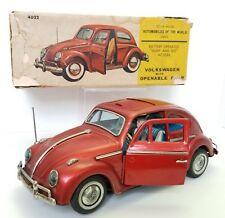 Vintage VOLKSWAGEN BEETLE Bug 1965  Tanaka Collection Sunroof  Bandai Japan