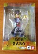 One Piece Zero Sabo Film Gold BANDAI