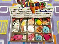 12-pcs Set Anti-Stress Mini Soft Squishy Keychain Toys Holiday Gift Sets