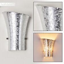 Applique Design Lampe de séjour Lampe murale Lampe de corridor argentée 142086