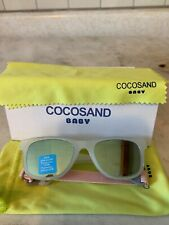 COCOSAND Baby Sunglasses with Strap Beige New