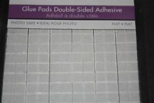 """121pc 1/4"""" CLEAR Round Double Sided Adhesive Glue Pads Pop Dot Scrapbooking 026"""