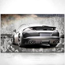 Porsche Panamera Sportwagen Auto Bild auf Leinwand Bilder Kunstdruck D0269