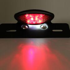 Smoke LED Motorcycle ATV Turn Signal Brake License Plate Integrated Tail Light