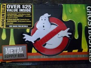 Ghost busters Bundle Metal Supply Box Unisex New 2016