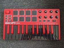 Akai Professional Mpk Mini Ii Special Edition, Red and Black Keys, Used