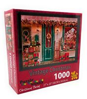 Puzzle Works Christmas Series 1000 Piece Jigsaw Puzzle - Vintage Christmas