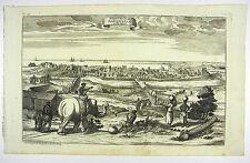MACHILIPATNAM MASULIPATNAM BANDAR INDIEN KUPFERSTICH RASPE 1764 #D839S