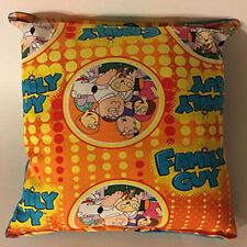 Family Guy Pillow Rare Cartoon Pillow Handmade in USA