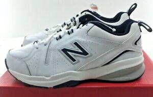 NEW BALANCE MX608WN5 Men's Crosstrainer Shoes  White/Navy  NWD 7 2E and 7.5 4E