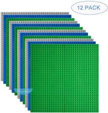 Classic Baseplates Building Base Plates for Building Bricks Compatible Brands
